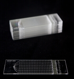 Injection Moulding in microfluidics