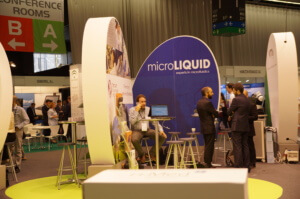 MicroLiquid Stand in BioSpain 2016